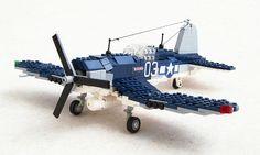 F4U Corsair #flickr #LEGO #MOC #plane