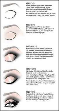 Makeup blue eyeliner cut crease 44 Ideas for 2019 Eye Makeup Steps, Natural Eye Makeup, Blue Eye Makeup, Makeup For Brown Eyes, Smokey Eye Makeup, Eyeshadow Makeup, Natural Eyeliner, Contour Makeup, Nose Makeup