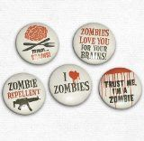 Funny & Novelty Magnets - Support Zombies Car Ribbon Magnet