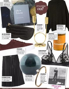Our Not So Tiny Diamond Ring styled by stylist @karolineannawhite in Swedish weekly magazine Klick!, Oct 2016