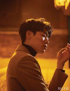 [Bazaar Korea 2月號] 和柳俊烈一起度過的夜晚