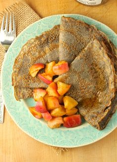Weekends are the ideal time to enjoy a leisurely breakfast, and these crepes are perfect for just that. What I love most about crepes (besides the taste) is the lovely, lacy look of them, with the…