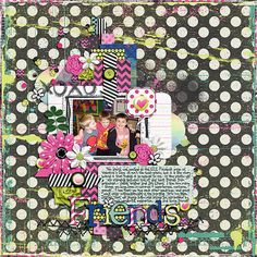 Template:  A Bucket Full of Memories by Two Tiny Turtles  Kit:  Cherry Limeade Slush by Libby Pritchett and Sugary Fancy