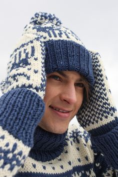 Aikuisen kirjoneulepipo Novita Isoveli | Novita knits