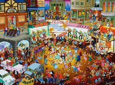 Joe Scarborough: People Dancing to Bands, Sheffield Sheffield Art, Joe Scarborough, People Dancing, Painting People, Art Uk, Types Of Art, Your Paintings, Cool Artwork, Love Art