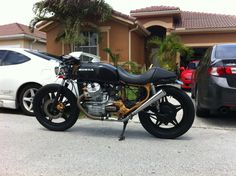 Update on my 78 Black Gold CX500 Cafe