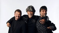 Alabama Band ~ Jeff Cook, Randy Owen and Teddy Gentry.  All Cousins....