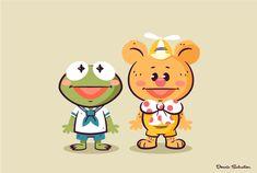 Kawaii Disney, Cute Disney, Disney Art, Disney Pixar, Cute Cartoon, Cartoon Art, Cartoon Characters, Comic Character, Character Concept