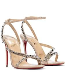 louboutin summer 2021 Gladiator Sandals, Leather Sandals, Next Shoes, Open Toe, Ankle Strap, Christian Louboutin, Women Wear, Luxury Fashion, Pairs