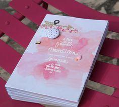 Le scrap d 'Opsite: Un mini album ananas et flamand rose : DT Mini'Mum...