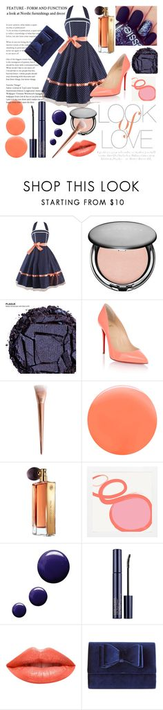 """""""Rose goals"""" by lilimia ❤ liked on Polyvore featuring Vince, Cover FX, Urban Decay, Christian Louboutin, JINsoon, Guerlain, Topshop, Estée Lauder, Ardency Inn and INC International Concepts"""
