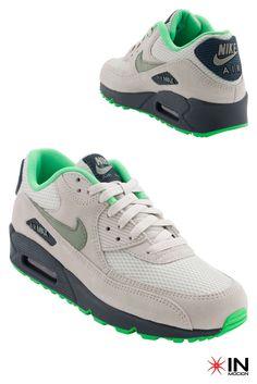 #Nike Air Max 90 Essential Tamanhos: 40 a 45  #Sneakers mais informações: http://www.inmocion.net/Nike-Air-Max-90-Essential-537384--88-pt?utm_source=pinterest&utm_medium=537384Z-88_Nike_p&utm_campaign=Nike