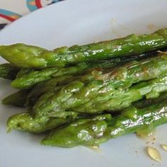 Easiest Asparagus Recipe Allrecipes.com  #MyAllrecipes #AllrecipesAllstars #AllrecipesFaceless