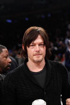 Norman Reedus looks handsome even when he's just standing there