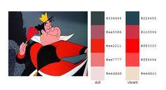 #color #palette #scheme Alice in Wonderland (Disney) - Duchess