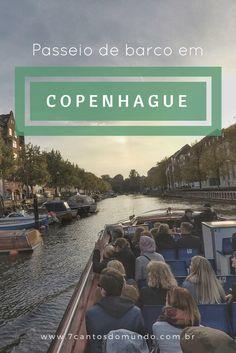 O passeio de barco em Copenhague é um programa imperdível! É divertido, você conhece vários pontos turísticos da cidade, e o melhor: não é caro. Confira!
