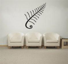 Koru Kiwi Wall Decal Kiwiana Cheeky Raskal Wall Decals - Wall decals nzkiwiana decals