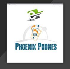 Design Logo for Phoenix Phones Company by eStore Services