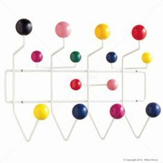Eames Replica Hang It All Rack - Buy Eames Replica Coat Rack and Scandinavian Furniture on sale now at Milan Direct