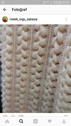 Hairpin Lace Baby Blanket pattern by Bernat Design Studio Hairpin Lace Patterns, Hairpin Lace Crochet, Crochet Motif, Crochet Shawl, Diy Crafts Knitting, Diy Crafts Crochet, Basic Crochet Stitches, Crochet Basics, Embroidery Stitches