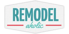 Remodelaholic | Let us help you remodel your house from builder grade to BEAUTIFUL! DIY projects that reduce, reuse, recycle, repurpose, and...