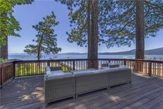 This luxurious, modern lakefront home is set on the beautiful North Shore of Lake Tahoe in Kings Beach. Floor-to-ceiling windows in the living room offer one of the most beautiful views on the Lake. Skippin' Stones is well appointed throughout, with a gourmet kitchen, over-sized master bedroom with lake views, and luxurious bedding. Relax on the over sized deck, or head down to the pier. Attention to detail is the calling card of this gorgeous property.
