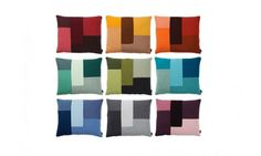 Deze stijlvolle kussens van Normann Copenhagen zijn verkrijgbaar in verschillende kleuren. Mooi voor op de bank of op bed.