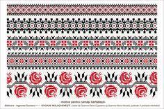 Semne Cusute: Romanian traditional motifs - MOLDOVA - Suceava, sat: Slatioara