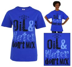 Oil & Water Don't Mix T-Shirt theanimalrescuesite.greatergood.com