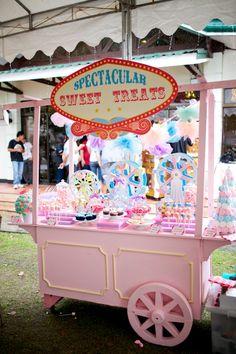 Tiffany's Dainty Carnival Themed Party – Sweet Treats