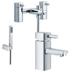 Bath And Basin Tap Set (ICE 41)