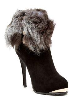 Anastasia Genuine Fur Boot by Cecelia