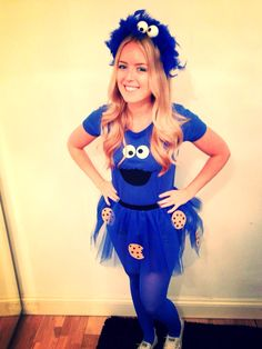 Cookie Monster DIY costume--this tutorial is lame the other DIY Cookie Monster  sc 1 st  Pinterest & 45 best Costume images on Pinterest | Costume ideas Costumes and ...