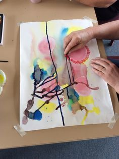 Chance, Intention and Intuition workshop coming up at the Hawthorn Arts Centre on Sunday August The Empress, Scribble, Intuition, Watercolor Tattoo, Abstract Art, Workshop, November 2015, Create, Sunday
