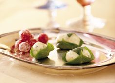 Fresh Basil-Wrapped Cheese Balls Recipe - Tablespoon