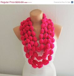 ON SALE Infinity Scarf Loop Scarf Circle Scarf Cowl by fairstore, $17.00