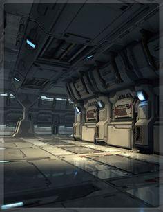 Modular Sci-Fi Corridor - Pretty nice art