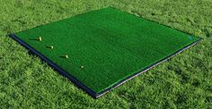 Practice like the pro's with this high quality FORB driving range folr practice mat by Net World Sports