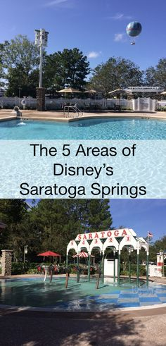 The many areas of Disney World hotel Saratoga Springs. Pools, restaurants, play areas, which area is right for your Best Disney Hotels, Best Disney Resort, Disney Resort Hotels, Disney World Resorts, Saratoga Springs Disney, Saratoga Springs Resort, Disney Springs, Disney World Vacation Planning, Disney Vacation Club