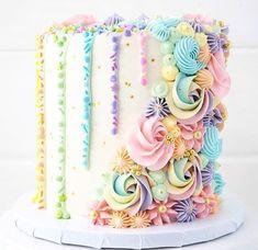 New cake decorating designs chocolate decorations Ideas Cupcakes Cool, Wedding Cupcakes, Wedding Cake, Gold Wedding, Cake Decorating Designs, Cake Designs, Decorating Ideas, Cupcakes Decorating, Happy Birthday Cakes