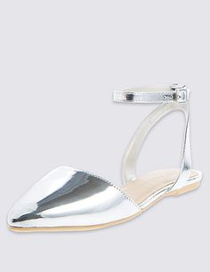 14bc0ac0475 Ankle Strap Two Part Sandals with Insolia Flex®