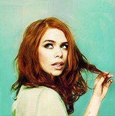 billie piper- red hair