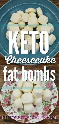keto no bake cheesecake fat bombs