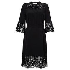 Somerset by Alice Temperley Laser Cut Dress, Black