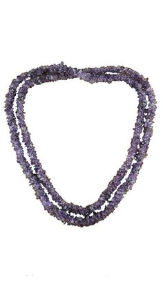 Amethyst Long Beaded Necklace by Novica