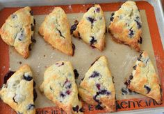 Fresh Blueberry Scones | Blissfully Delicious