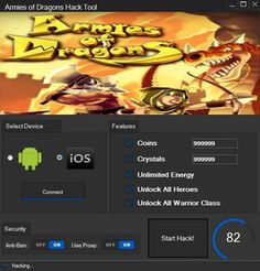 Armies of Dragons Hack Tool Free Download