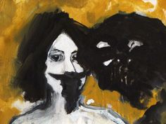 Petillo Piero. Oil painting Portrait of Olga Fulu.