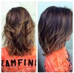 Highlights wavy and straight