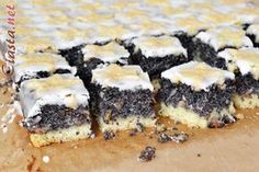 Polish Desserts, Polish Recipes, Polish Food, Brown Sugar Chicken, Cake Recipes, Dessert Recipes, Poppy Seed Cake, Food Cakes, Holiday Baking